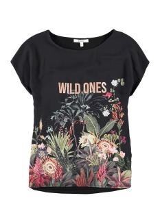 Garcia T-shirt T SHIRT MET OPDRUK I90015 60 BLACK