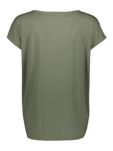donkergroen tshirt met opdruk i90015 garcia t-shirt 1690 beetle