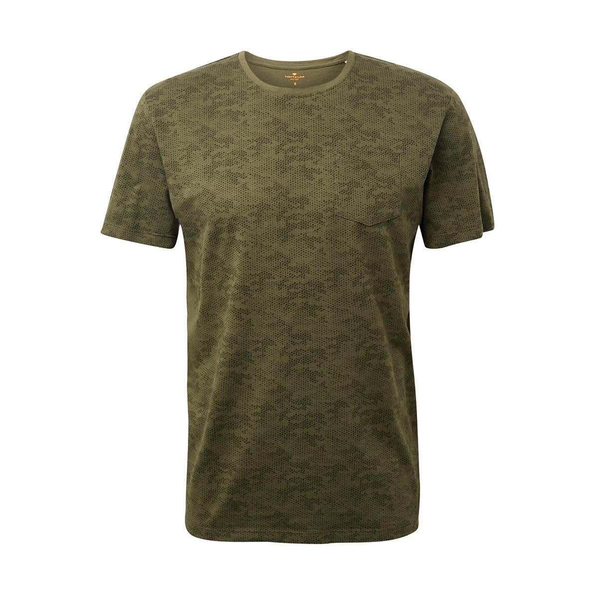 t shirt met allover print 1014072xx10 tom tailor t-shirt 19900