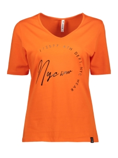Zoso T-shirt MABEL 194 T SHIRT ORANGE/BLACK
