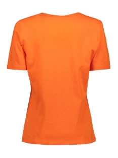 mabel 194 t shirt zoso t-shirt orange/black