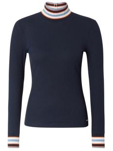 Tom Tailor T-shirt SHIRT MET GERIBDE DETAILS 1014257 10360