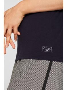 stretch shirt met col 089cc1k053 edc t-shirt c400
