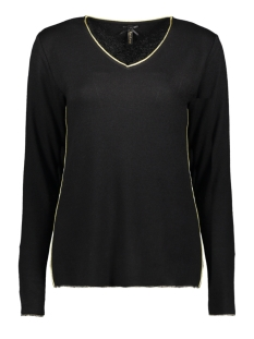 Key Largo T-shirt WLS00188 LENA V-NECK 1100 black