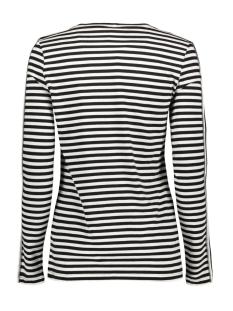 alida striped shirt 194 zoso t-shirt black/offwhite