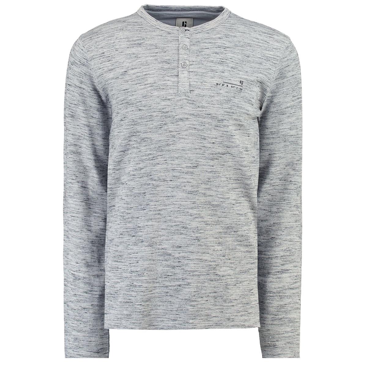 grijs tshirt met lange mouwen gs910706 garcia t-shirt 2351