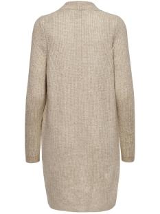 onljade l/s cardigan cc knt 15179815 only vest whitecap gray/w. white m