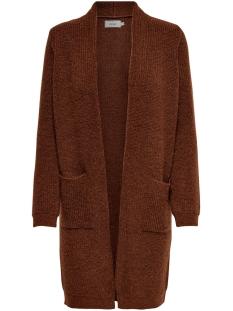Only Vest ONLJADE L/S CARDIGAN CC KNT 15179815 Ginger Bread/W. BLACK M