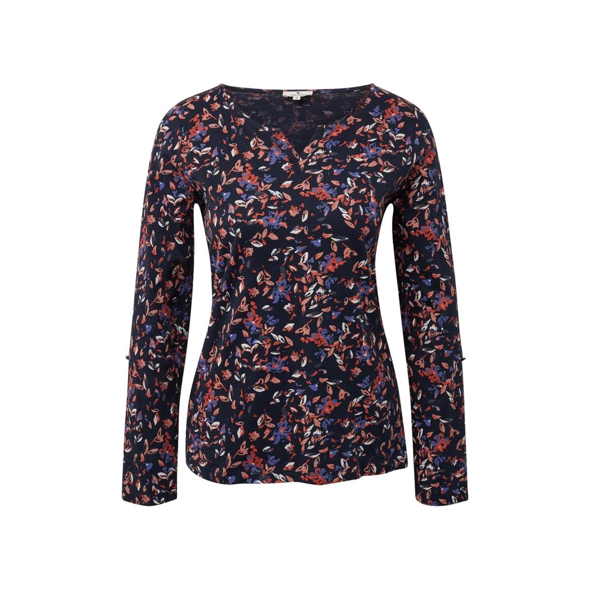 shirt met allover print 1013913 xx 70 tom tailor t-shirt 19885