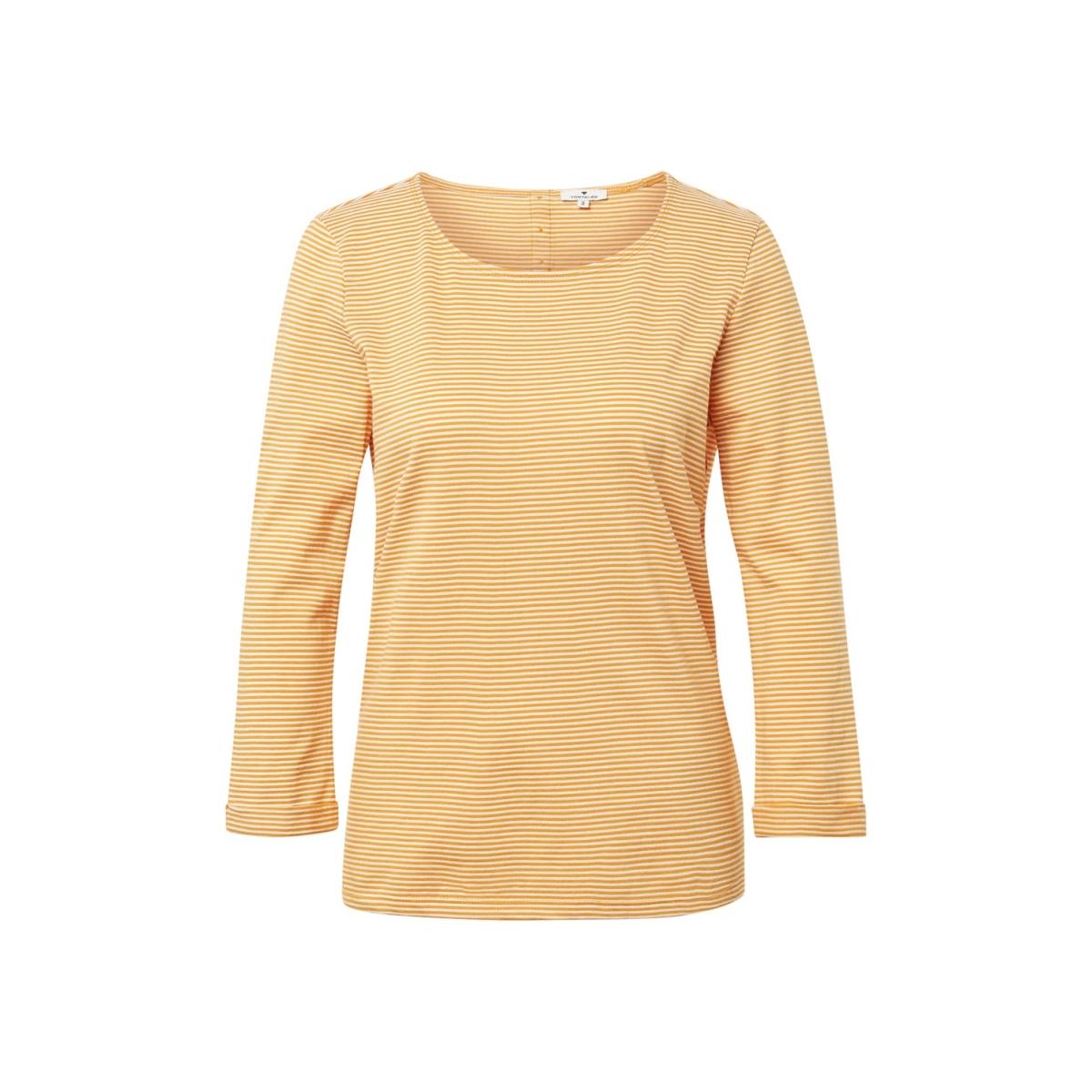 shirt gemaakt van gestreepte pique 1013915 xx 70 tom tailor t-shirt 19993