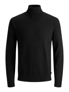 jjeemil knit roll neck noos 12157417 jack & jones trui black