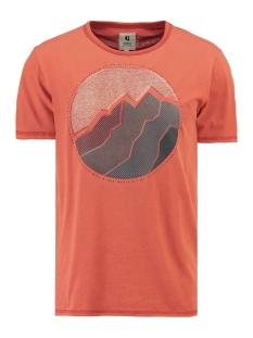 t shirt met korte mouwen i91003 garcia t-shirt 2729 storm orange