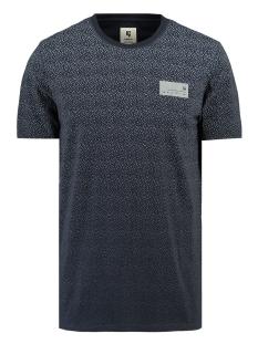 Garcia T-shirt T SHIRT MET KORTE MOUWEN I91004 292 Dark Moon