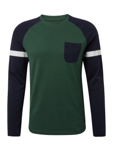 Tom Tailor T-shirt LANGE MOUWEN SHIRT MET STRUCTUURMIX 1013780XX12 18601