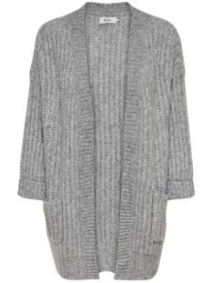 Only Vest ONLCHUNKY 7/8 CARDIGAN KNT 15183928 Light Grey