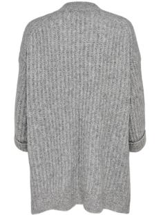 onlchunky 7/8 cardigan knt 15183928 only vest light grey