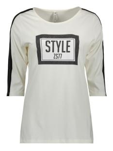 saks printed t shirt 194 zoso t-shirt off white/antra