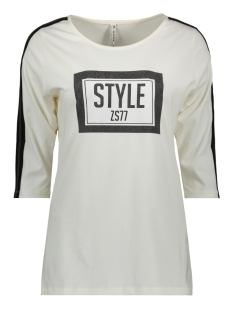 Zoso T-shirt SAKS PRINTED T SHIRT 194 OFF WHITE/ANTRA