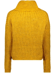 onlchunky l/s rollneck pullover knt 15187654 only trui golden yellow detail:w