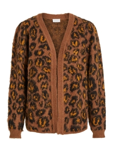 Vila Vest VIVILD KNIT L/S CARDIGAN 14053297 Toffee/GOLDEN OAK