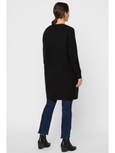 vmblakely iva ls open cardigan color 10219171 vero moda vest black/solid