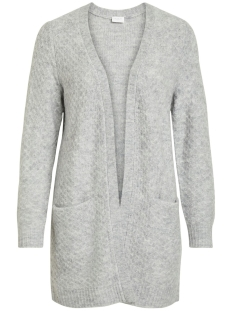 Vila Vest VIINFI KNIT CARDIGAN - NOOS 14053270 Light Grey Melange