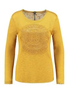 Key Largo T-shirt WLS HOPE ROUND SHIRT WLS00189 DARK YELLOW