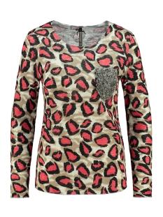 wls fina round wls00179 key largo t-shirt schlamm-red