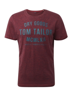 tshirt met print 1008640 tom tailor t-shirt 19486