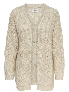 Only Vest ONLHAVANA L/S LONG CARDIGAN CC KNT 15155842 Pumice Stone/W. MELANGE