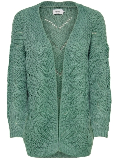 Only Vest ONLHAVANA L/S LONG CARDIGAN CC KNT 15155842 Chinois Green