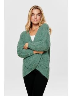 onlhavana l/s long cardigan cc knt 15155842 only vest chinois green