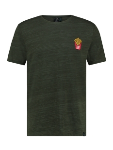 Kultivate T-shirt TS FRIES BABY 1901030224 385 Deep Forest