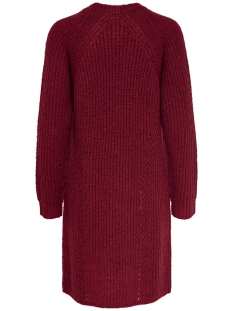 onlbernice l/s cardigan knt noos 15165076 only vest merlot/black mela