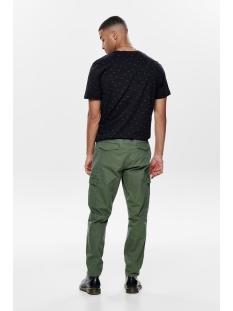 onsab reg aop tee 22014574 only & sons t-shirt black