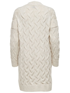 onlfreyah l/s cardigan knt 15183912 only vest whitecap gray