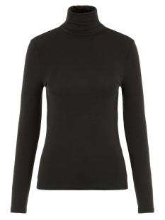 Vero Moda T-shirt VMAVA LULU LS ROLLNECK BLOUSE GA NOOS 10219220 Black