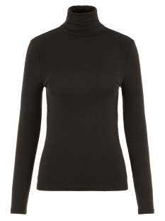 vmava lulu ls rollneck blouse ga noos 10219220 vero moda t-shirt black