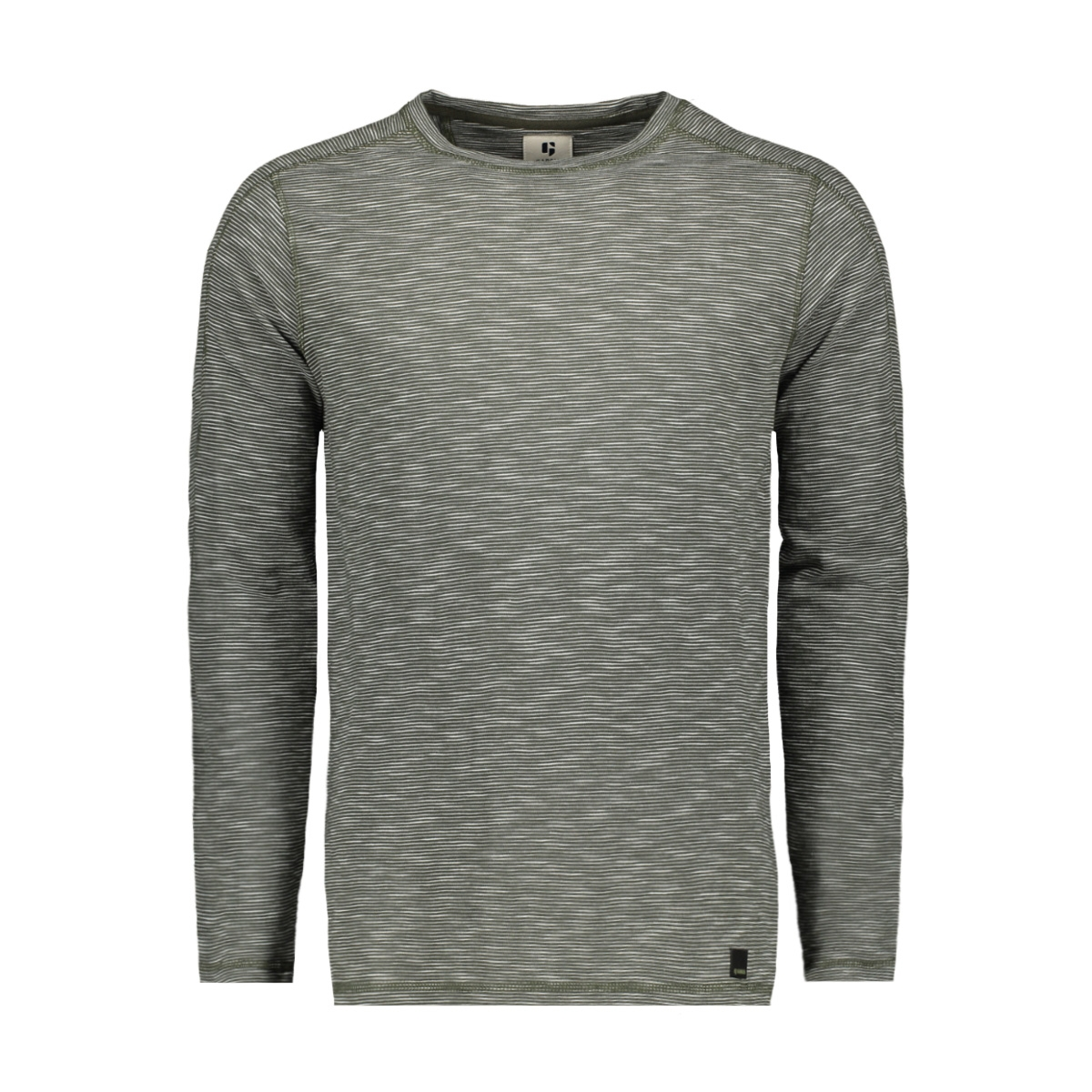 t shirt met lange mouwen j91212 garcia t-shirt 2882 seaweed
