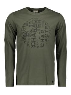 Garcia T-shirt T SHIRT MET LANGE MOUWEN J91211 2882 Seaweed