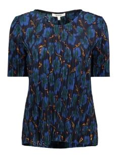tshirt met rib j90208 garcia t-shirt 292 dark moon