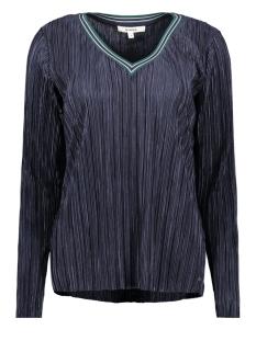 Garcia T-shirt LONGSLEEVE TSHIRT MET PLISSE J90207 292 DARK MOON