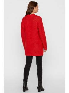 vmno name ls cardigan color 10192372 vero moda vest chinese red