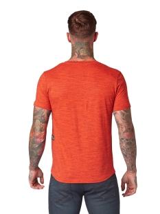 tshirt in melange look 1011974xx12 tom tailor t-shirt 21971
