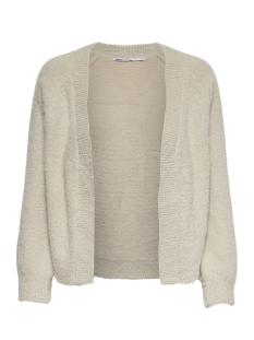 onlbisan l/s cardigan knt 15184617 only vest whitecap gray