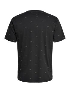 onskane slim ss ditsy tee 22014935 only & sons t-shirt phantom