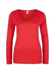 Q/S designed by T-shirt T SHIRT MET LANGE MOUWEN EN V HALS 41910313221 3123