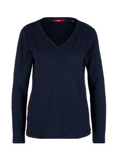longsleeve met v hals 14910312700 s.oliver t-shirt 5959