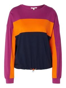 Tom Tailor T-shirt T SHIRT MET ELASTISCH KOORD 1014607XX71 10360