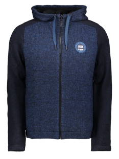 Jack & Jones Vest JCOMIXED KNIT CARDIGAN 12165126 Sky Captain/KNIT FIT